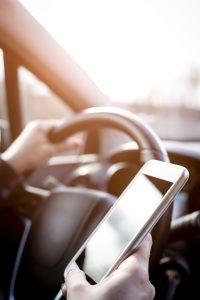 £2500 fine for commercial drivers using mobile 'phones